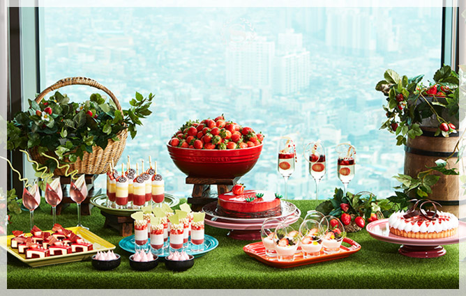 All About Strawberry ที่ Sheraton Seoul Dicube City Hotel